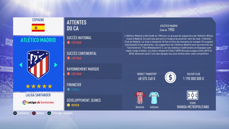 FIFA 19 Mode Carrière : Les jeunes les plus prometteurs, le budget des clubs et bien choisir son équipe 1538387992-8087-capture-d-ecran