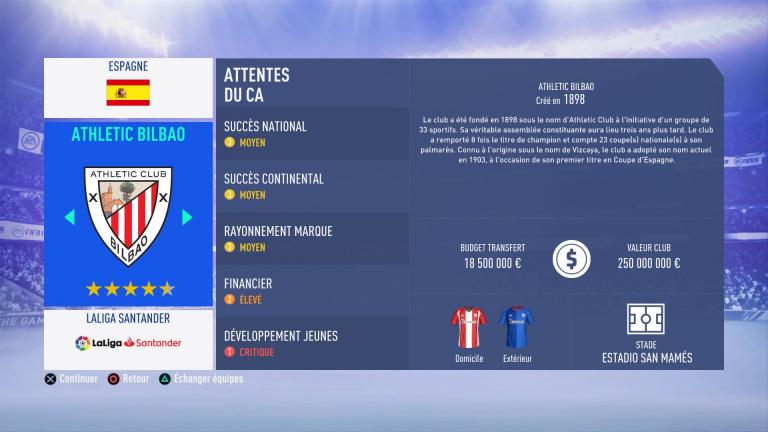 FIFA 19 Mode Carrière : Les jeunes les plus prometteurs, le budget des clubs et bien choisir son équipe 1538388034-3276-capture-d-ecran