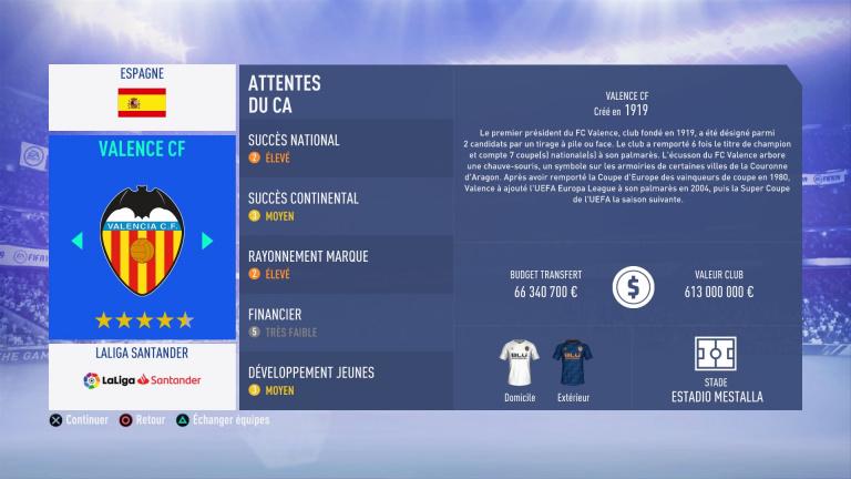 FIFA 19 Mode Carrière : Les jeunes les plus prometteurs, le budget des clubs et bien choisir son équipe 1538388189-2928-capture-d-ecran
