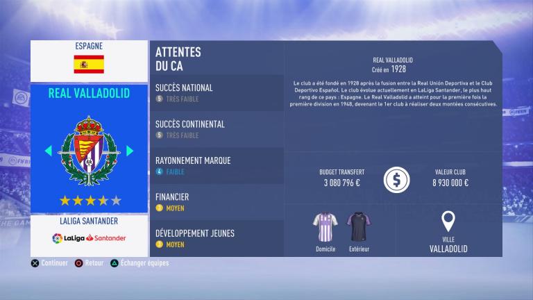 FIFA 19 Mode Carrière : Les jeunes les plus prometteurs, le budget des clubs et bien choisir son équipe 1538388206-7491-capture-d-ecran