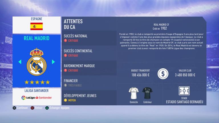 FIFA 19 Mode Carrière : Les jeunes les plus prometteurs, le budget des clubs et bien choisir son équipe 1538388208-708-capture-d-ecran