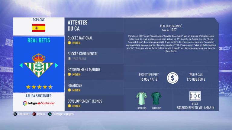 FIFA 19 Mode Carrière : Les jeunes les plus prometteurs, le budget des clubs et bien choisir son équipe 1538388220-2609-capture-d-ecran