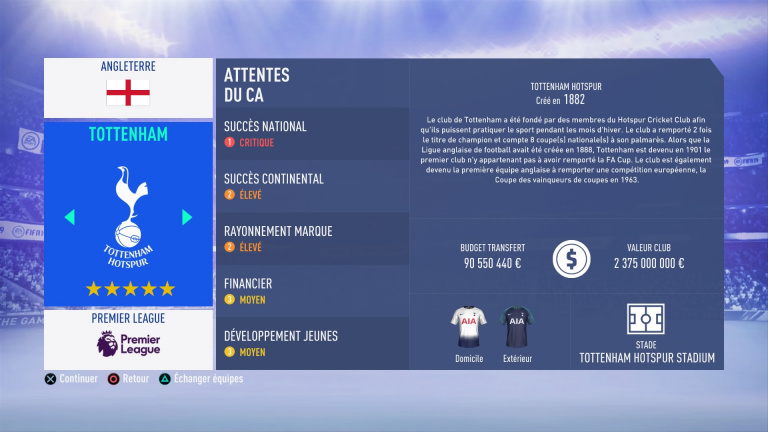 FIFA 19 Mode Carrière : Les jeunes les plus prometteurs, le budget des clubs et bien choisir son équipe 1538388454-5853-capture-d-ecran
