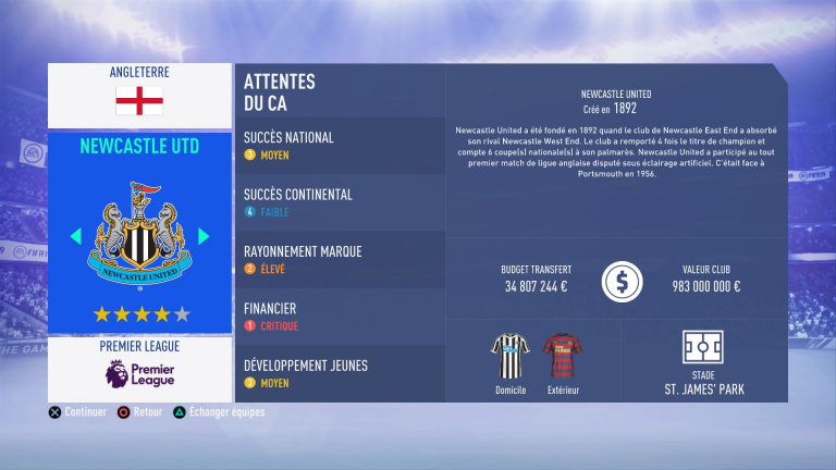 FIFA 19 Mode Carrière : Les jeunes les plus prometteurs, le budget des clubs et bien choisir son équipe 1538388458-3987-capture-d-ecran