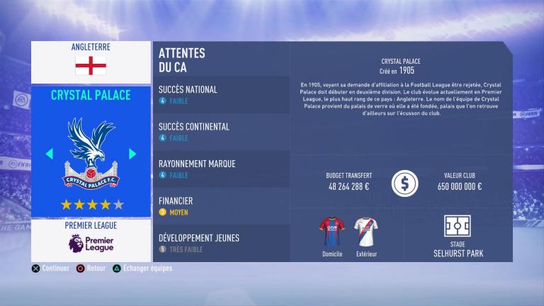 FIFA 19 Mode Carrière : Les jeunes les plus prometteurs, le budget des clubs et bien choisir son équipe 1538388479-5294-capture-d-ecran