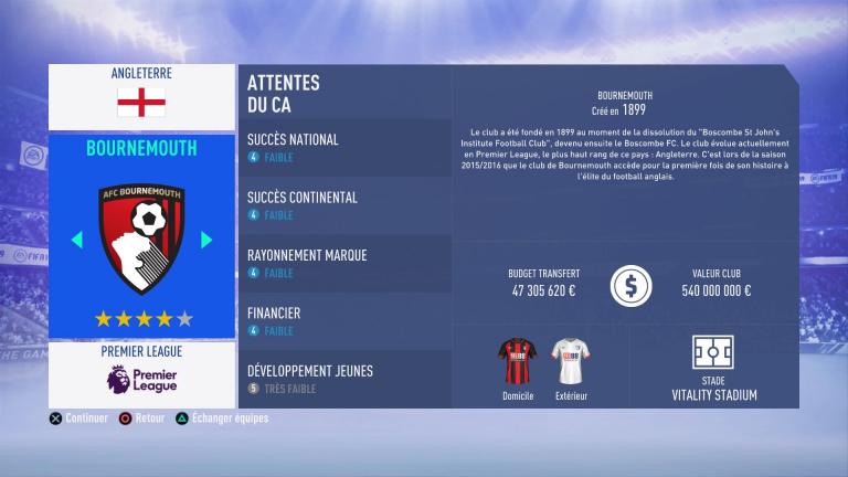 FIFA 19 Mode Carrière : Les jeunes les plus prometteurs, le budget des clubs et bien choisir son équipe 1538388506-2133-capture-d-ecran