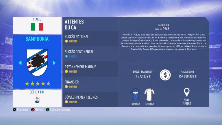 FIFA 19 Mode Carrière : Les jeunes les plus prometteurs, le budget des clubs et bien choisir son équipe 1538388808-9635-capture-d-ecran