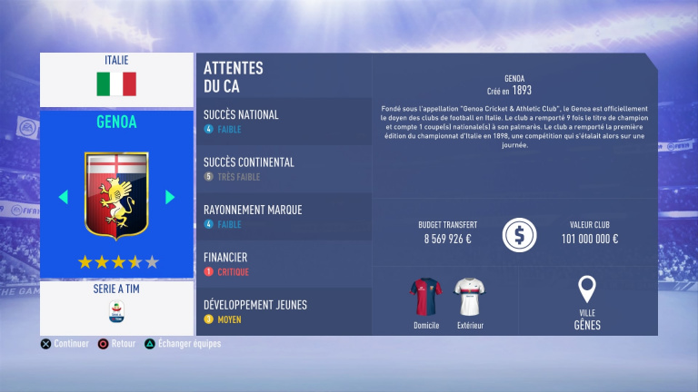 FIFA 19 Mode Carrière : Les jeunes les plus prometteurs, le budget des clubs et bien choisir son équipe 1538388820-6387-capture-d-ecran