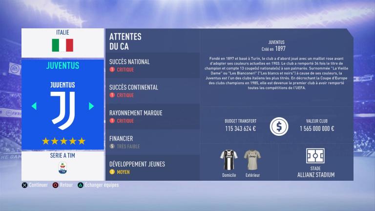 FIFA 19 Mode Carrière : Les jeunes les plus prometteurs, le budget des clubs et bien choisir son équipe 1538388837-1674-capture-d-ecran