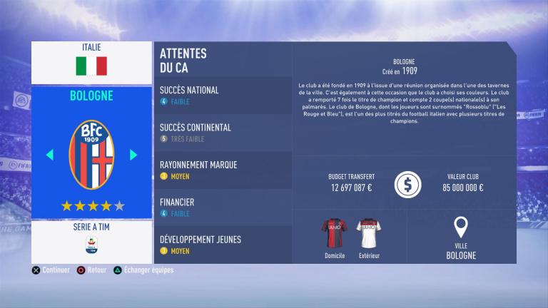 FIFA 19 Mode Carrière : Les jeunes les plus prometteurs, le budget des clubs et bien choisir son équipe 1538388847-5647-capture-d-ecran