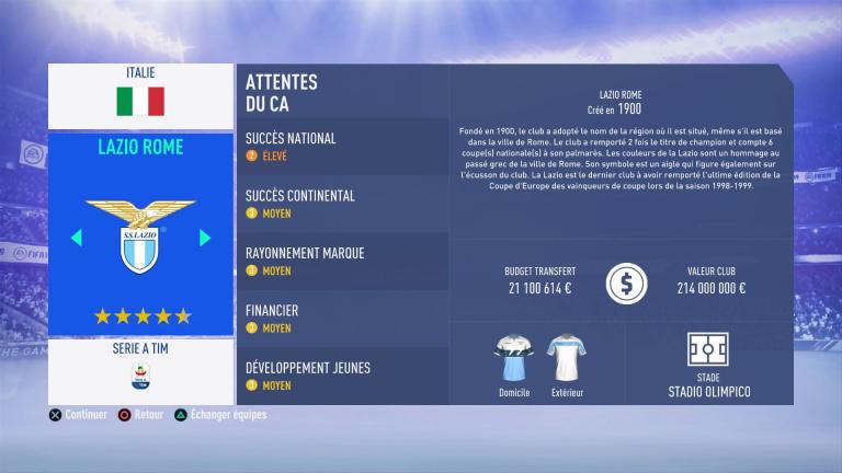 FIFA 19 Mode Carrière : Les jeunes les plus prometteurs, le budget des clubs et bien choisir son équipe 1538388857-3478-capture-d-ecran