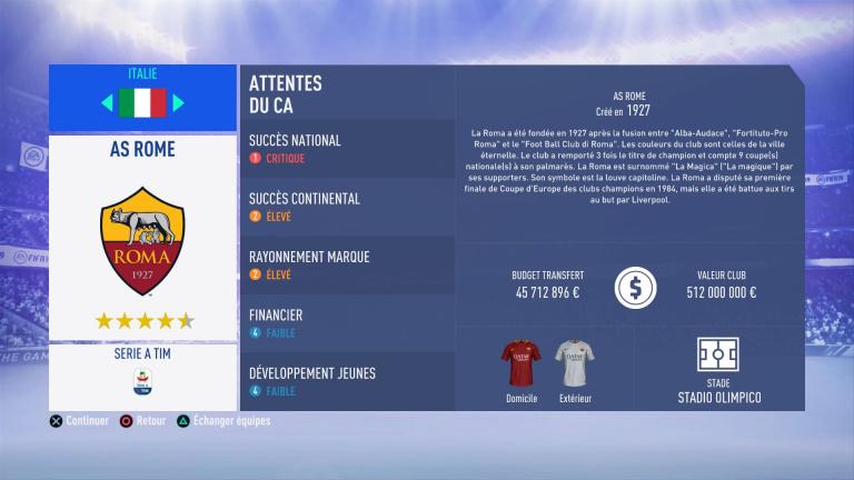 FIFA 19 Mode Carrière : Les jeunes les plus prometteurs, le budget des clubs et bien choisir son équipe 1538388860-2763-capture-d-ecran