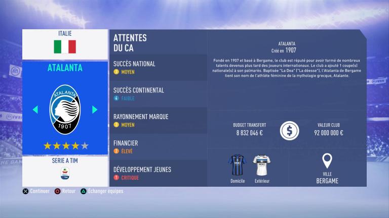 FIFA 19 Mode Carrière : Les jeunes les plus prometteurs, le budget des clubs et bien choisir son équipe 1538388863-7747-capture-d-ecran