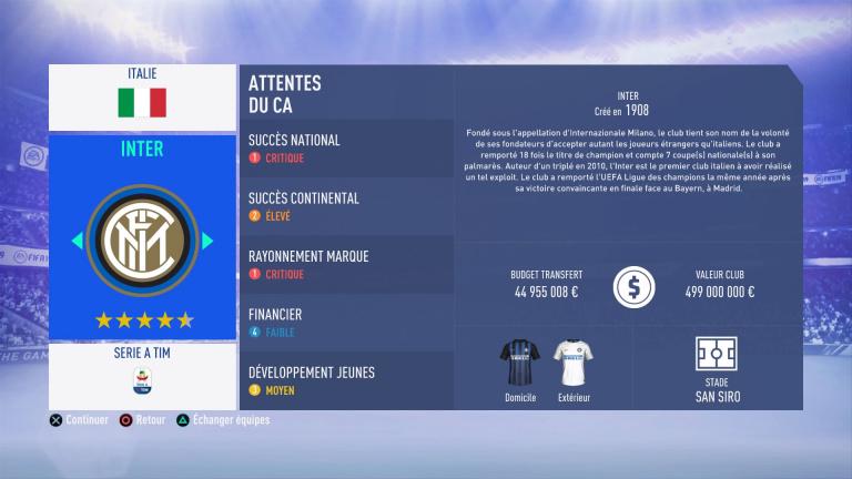 FIFA 19 Mode Carrière : Les jeunes les plus prometteurs, le budget des clubs et bien choisir son équipe 1538388864-7750-capture-d-ecran