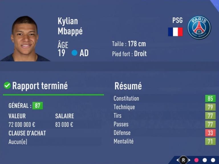 FIFA 19 Mode Carrière : Les jeunes les plus prometteurs, le budget des clubs et bien choisir son équipe 1538393765-2810-capture-d-ecran
