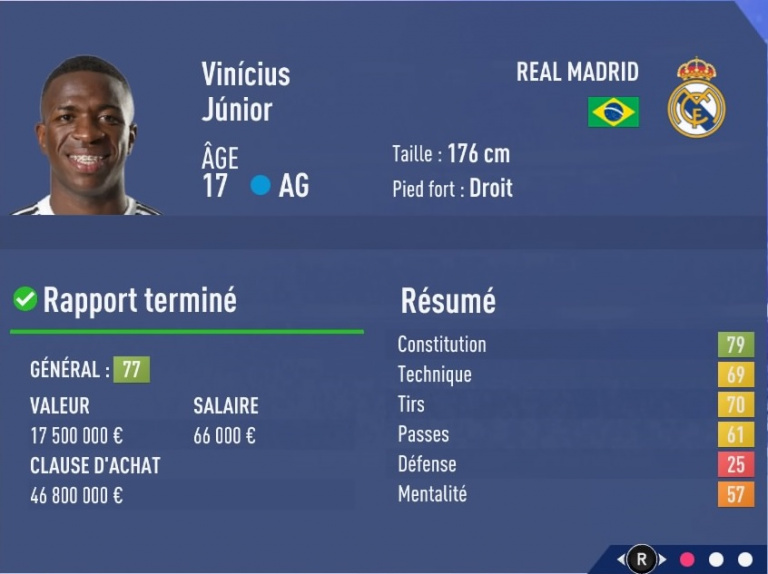 FIFA 19 Mode Carrière : Les jeunes les plus prometteurs, le budget des clubs et bien choisir son équipe 1538393794-668-capture-d-ecran