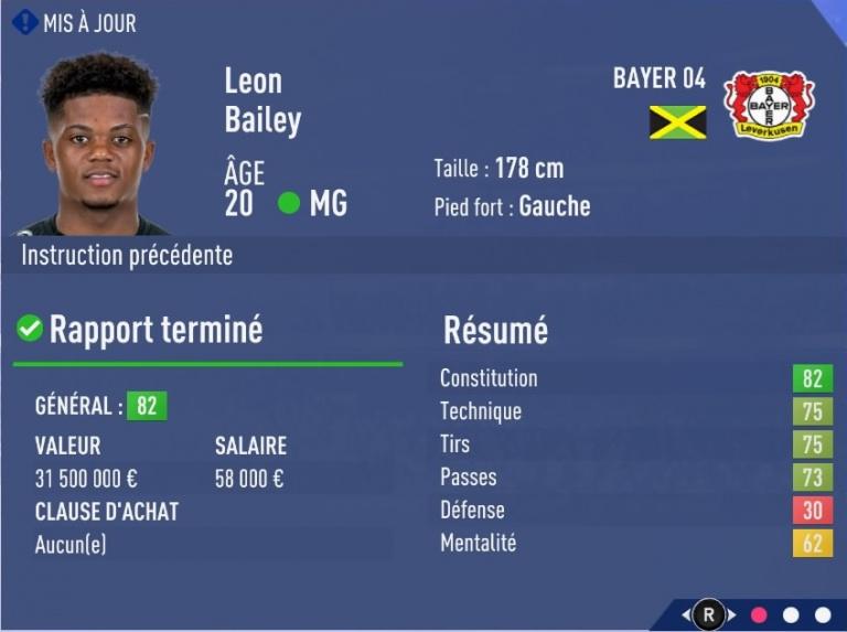 FIFA 19 Mode Carrière : Les jeunes les plus prometteurs, le budget des clubs et bien choisir son équipe 1538393864-9495-capture-d-ecran