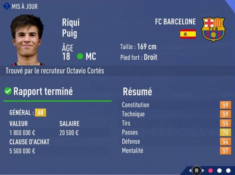 FIFA 19 Mode Carrière : Les jeunes les plus prometteurs, le budget des clubs et bien choisir son équipe 1538393889-5231-capture-d-ecran