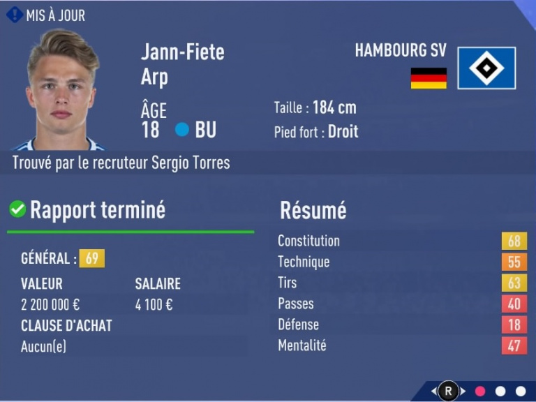 FIFA 19 Mode Carrière : Les jeunes les plus prometteurs, le budget des clubs et bien choisir son équipe 1538393916-6324-capture-d-ecran