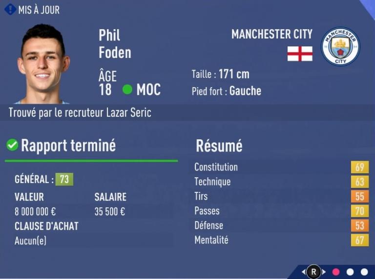 FIFA 19 Mode Carrière : Les jeunes les plus prometteurs, le budget des clubs et bien choisir son équipe 1538394125-9715-capture-d-ecran