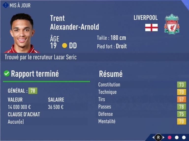 FIFA 19 Mode Carrière : Les jeunes les plus prometteurs, le budget des clubs et bien choisir son équipe 1538394178-8030-capture-d-ecran
