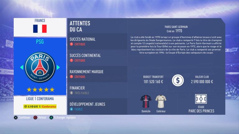 FIFA 19 Mode Carrière : Les jeunes les plus prometteurs, le budget des clubs et bien choisir son équipe 1538400492-7219-capture-d-ecran