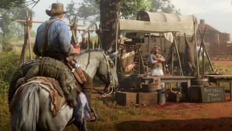 Red Dead Redemption II : Un aperçu de la vie sauvage en images 1537948179-7263-capture-d-ecran
