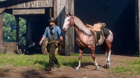 Red Dead Redemption II : Un aperçu de la vie sauvage en images 1537948181-7054-capture-d-ecran
