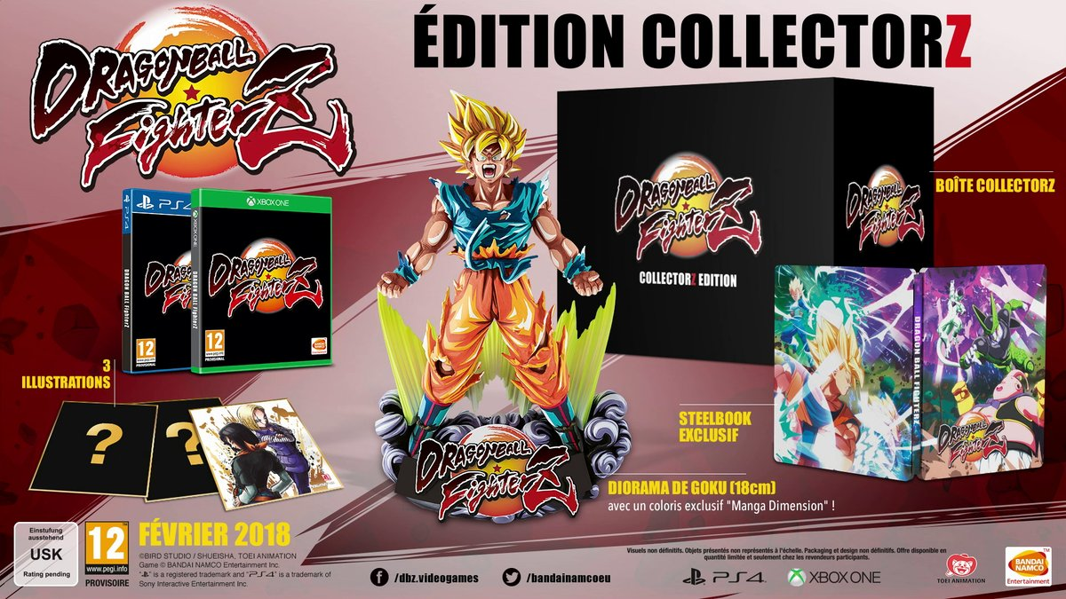 Dragon Ball Fighter Z CollectorZ/FighterZ/Ultimate Edition 1503388666-496-photo