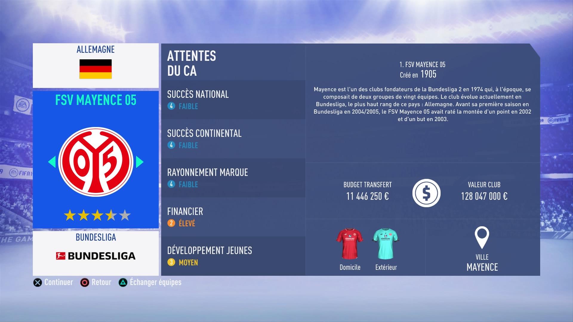 FIFA 19 Mode Carrière : Les jeunes les plus prometteurs, le budget des clubs et bien choisir son équipe 1538386287-315-capture-d-ecran