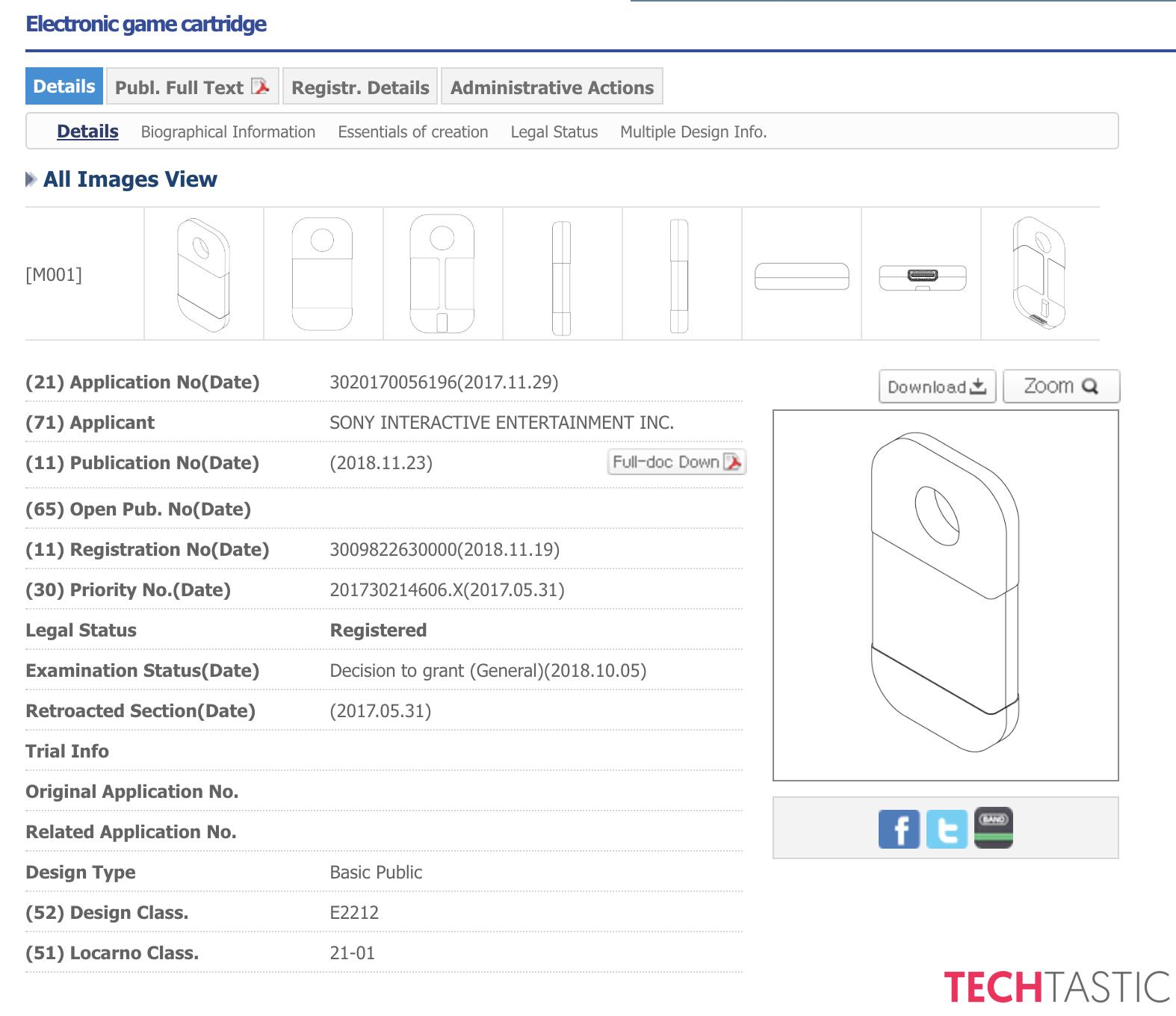 Sony à déposé un brevet de cartouche de jeu miniature 1543328259-681-capture-d-ecran