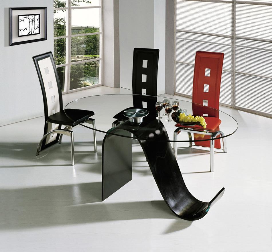 غرف سفرة 2011 Glass-Furniture-Dining-Table-and-Chair-AH6028-A8020-