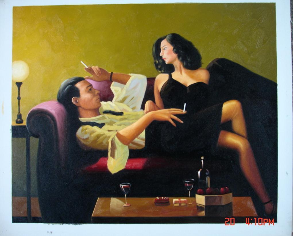 Jack Vettriano Painting-Jack-Vettriano