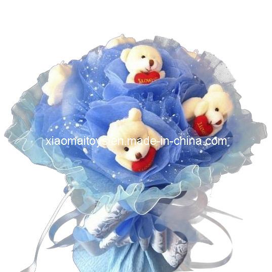 Ternuritas Stuffed-Original-Bears-in-Flower-JQ-1227-