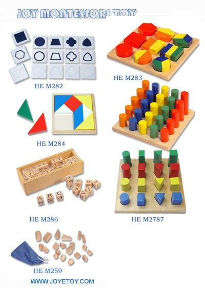María Montessori ¿cuál fue su mayor mérito? Montessori-Material