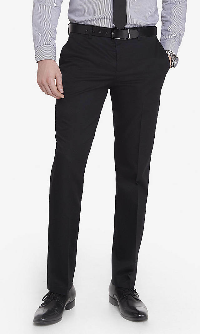 Sette Bello Wholesale-Customerized-Men-s-Non-Iron-Wrinkle-Free-Cotton-Straight-Leg-Dress-Pants