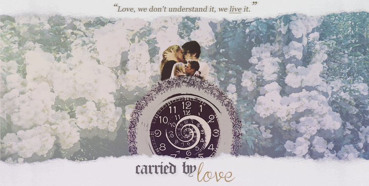 carried by love.