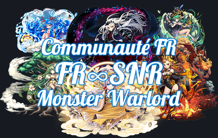SnR [₪] Monster Warlord [₪] Communauté FR