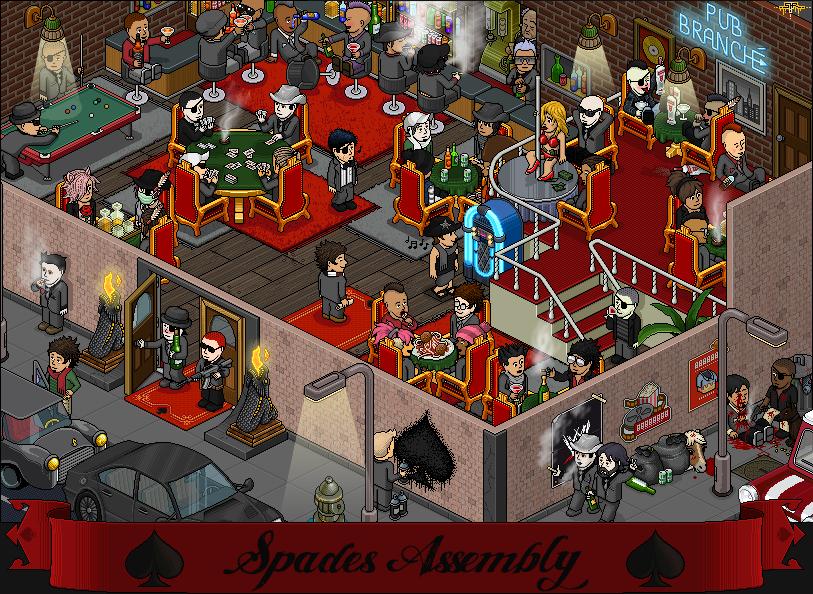 Spades Assembly