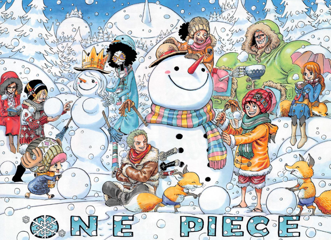 "[CURIOSIDADES] One Piece y sus ""Color Spreads"" (Posibles SPOILERS) 2ce08abdd535469da5e54892f53ae354"