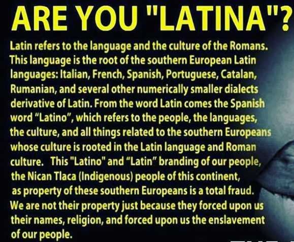 are you latina ? 31bb4c2480814314b1077542725677be