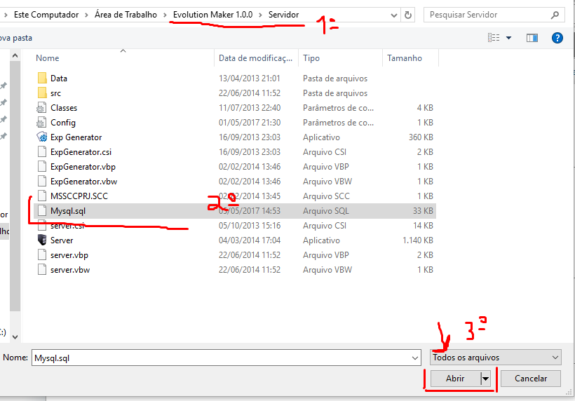 [TUTORIAL]Como ligar o servidor sem erros 38c5a11153b944f9b7122fca910b4c37