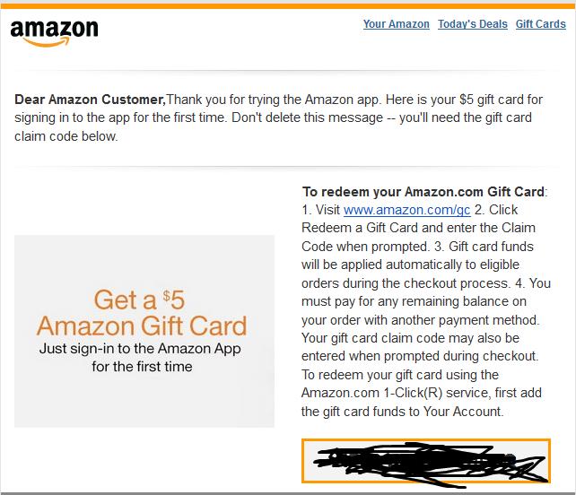 Sell AMAZON GIFT CARD $5 6c7970c70f8946c991afb57b086f8f9b