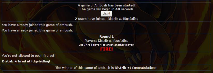 Ambush :D  925d47dbf20448339cd99f97938e2c26