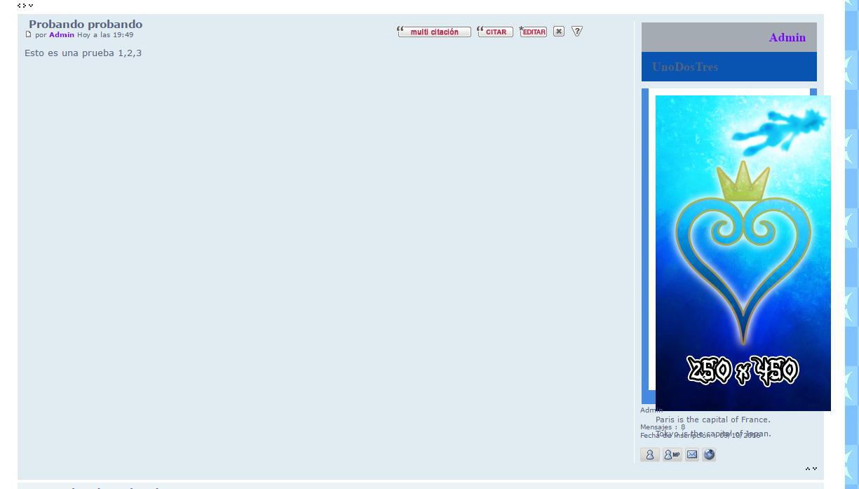 Las pestañas del perfil no funcionan bien. Perfiles en los mensajes con botones y transición con desvanecimiento Ae855dd6348b486a8460fc42fab1c330