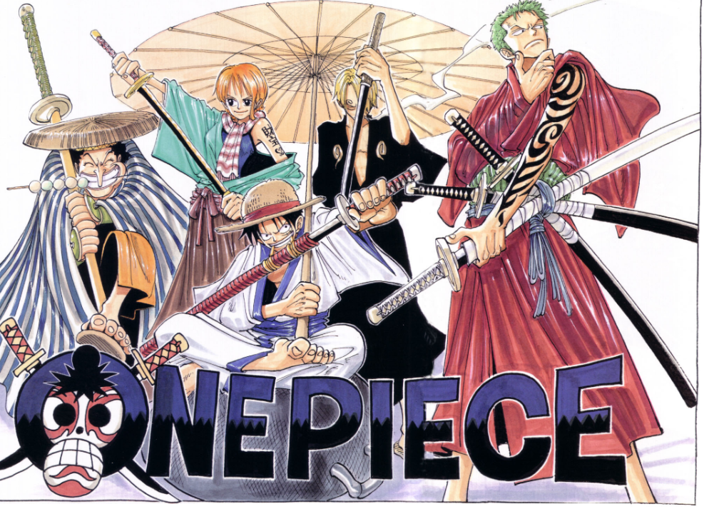 "[CURIOSIDADES] One Piece y sus ""Color Spreads"" (Posibles SPOILERS) Cef9d6fe3cf3486792e212460d77335e"