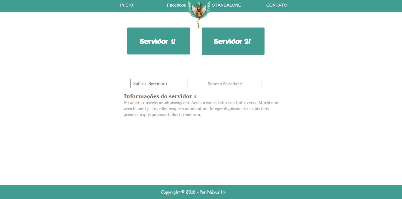 Layout SeuMice 2.0          | Servidor 1 e 2 | Ea22c55430ef48889bd7d975baf8cf1a
