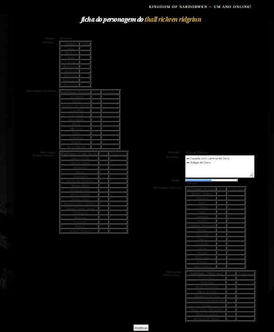Nivelar colunas na ficha RPG Fa208f6cc812425095a33a4f3787cadf