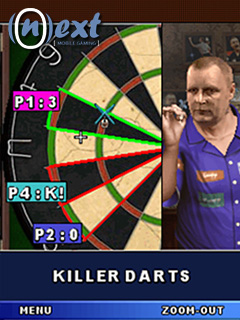 لعبة رمي السهم PDC World Darts Championship 2010 للجيل الثالث n96, nokai n71 ,n78 PDCWorldDart_Screenshot_005