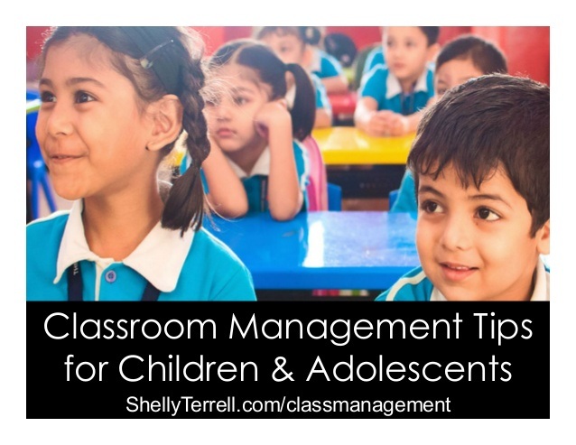 Classroom Management Tips for Kids and Adolescents  Classroom-management-tips-for-kids-and-adolescents-1-638